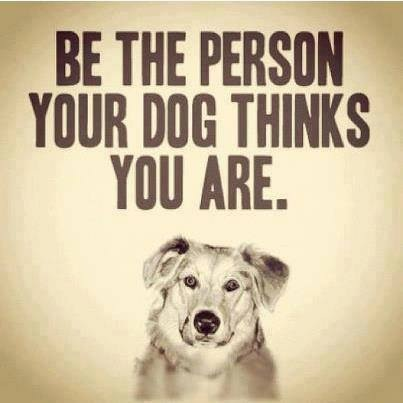 Be the person...